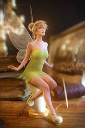 Tinkerbell cosplay by UltraCosplay