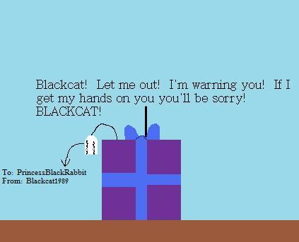 A gift for PrincessBlackRabbit by Blackcat1989
