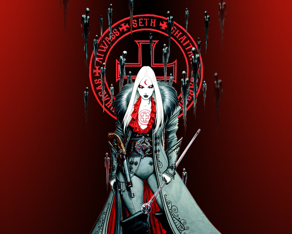 Queen of the Dead Souls by blackbeast