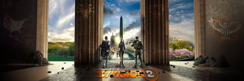 The Division 2 Dualscreen