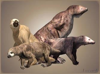 Ground Sloths Minipack (ZT2)