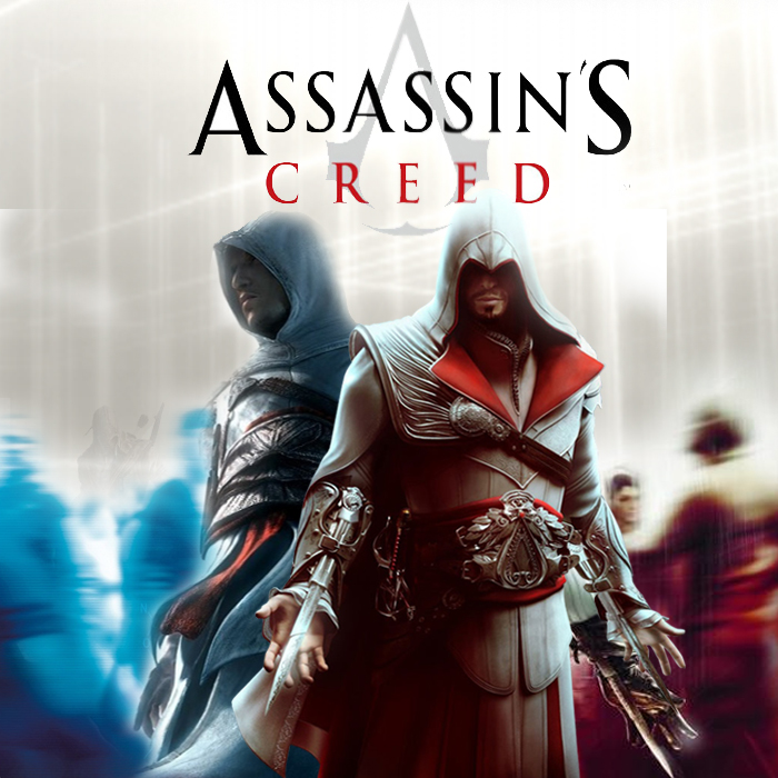 Assassin S Creed Brotherhood Altair And Ezio By
