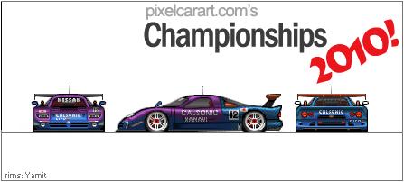 Nissan R390 GT1 Race Car by Kevintc
