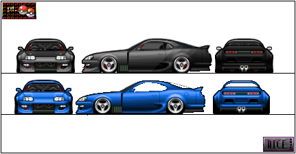 Toyota Supra by Kevintc