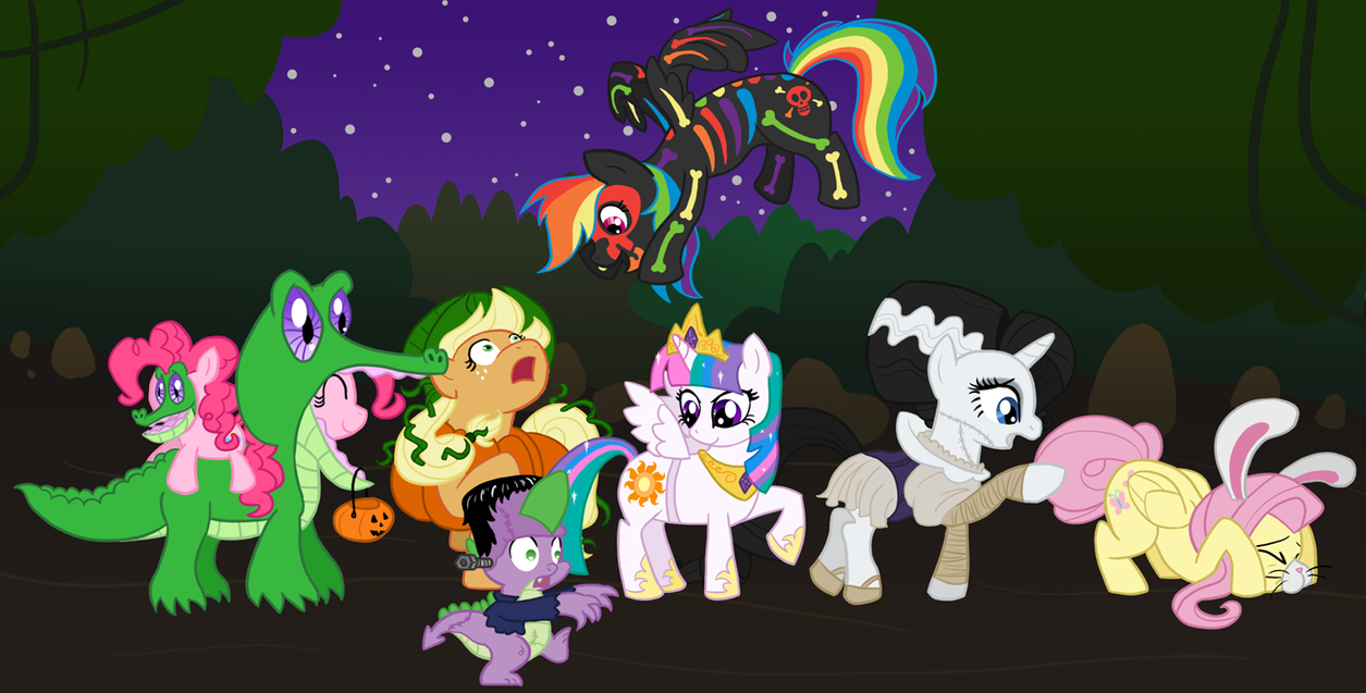 Halloween in Equestria by Atlur on DeviantArt