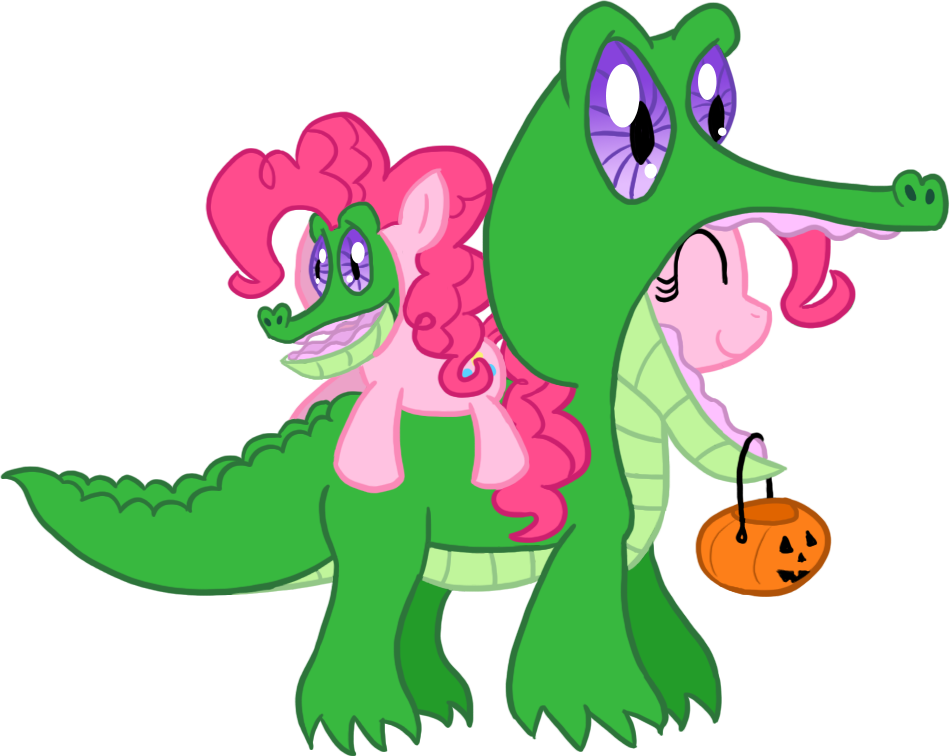 MLP Halloween - Pinkie Pie by Atlur
