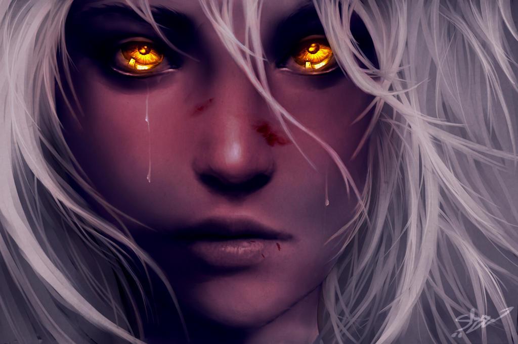 Through Golden Eyes by xX-Lone-Wolf-Xx