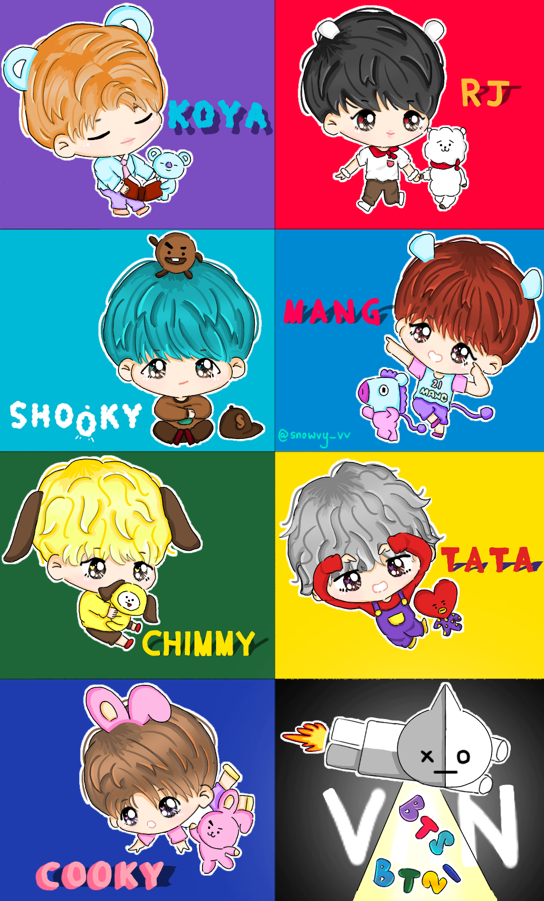 Bt Anime Characters : Bts bt by snowvy strawberry on deviantart