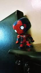 Funko Iron Spider by CassielsSprite