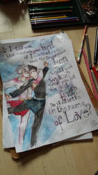 Just A Drawing - In the Name Of Love by Kianenn