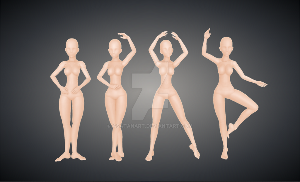 design doll ballet poses in color by asatanart on deviantart