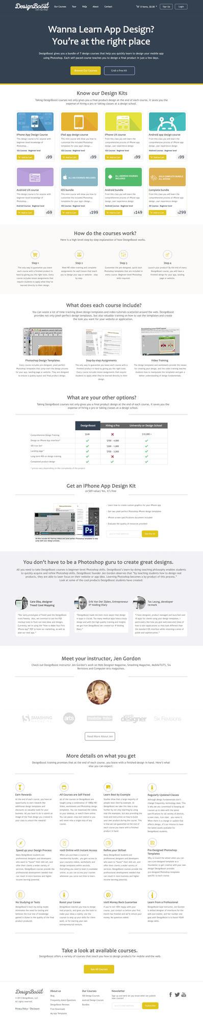 Designboost re-design by luhhcas