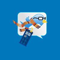 drWho twitter TARDIS by NickelEdge