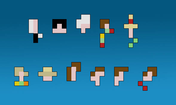 9 Pixels of Doctor Who