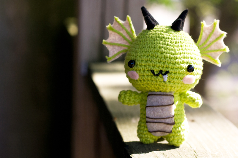 Dragon Amigurumi by Sushumo