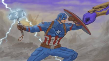 Captain America Fan Art - Avengers Endgame