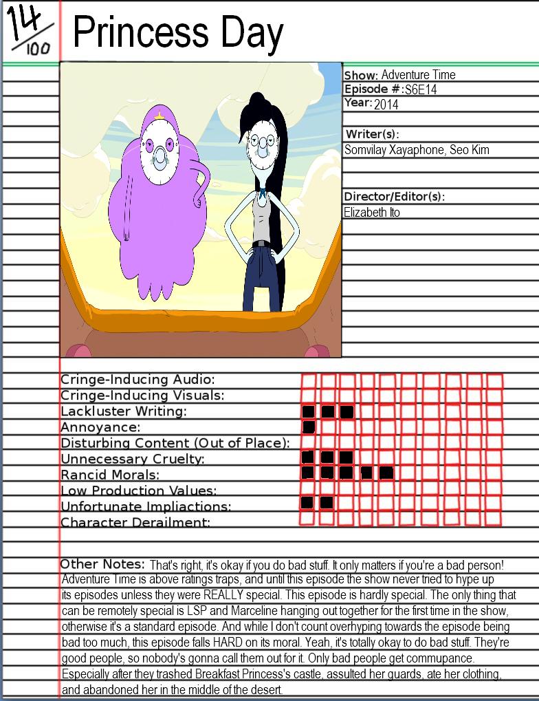 Adventure Time Princess Day animated atrocity - princess daygatlinggroink58 on