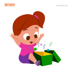 Birthday by artamado