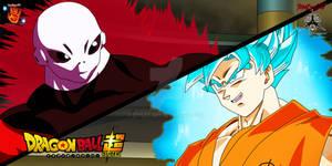 Goku VS Jiren - Wallpaper