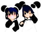 Nagi Cross x Yuu Kanda PANDA