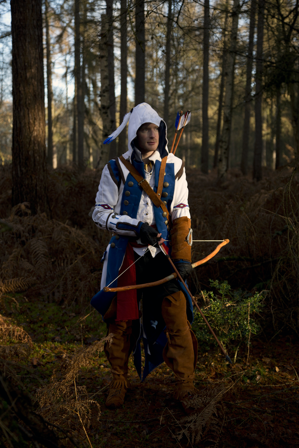 Assassins creed 3 connor - The Hunter by SquallWolfheart ...