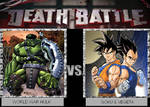 Death Battle - WW Hulk vs Goku and Vegeta
