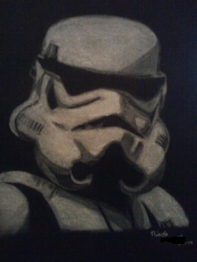 Stormtrooper by Adelia-Cooperwing