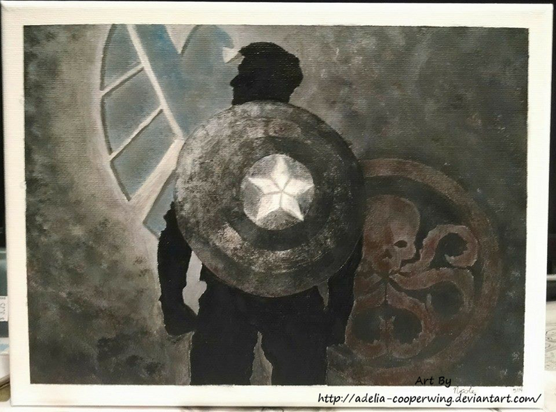 Captain America by Adelia-Cooperwing