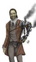Steampunk prosthetic limb
