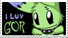 I LUV GOR Stamp by ZombiDJ