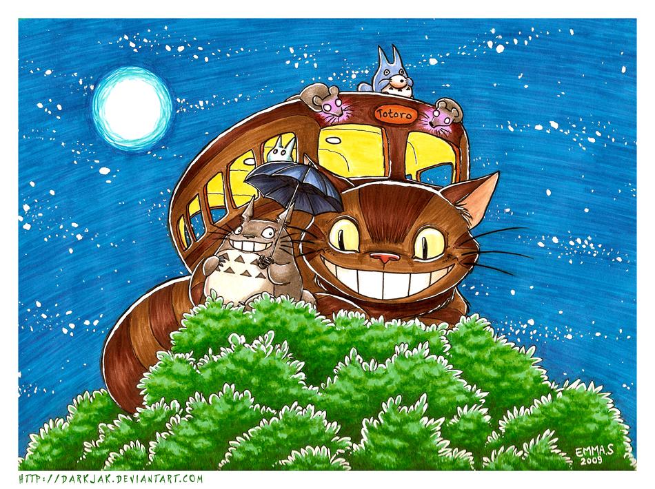 -To Toro Totoro- by ZombiDJ
