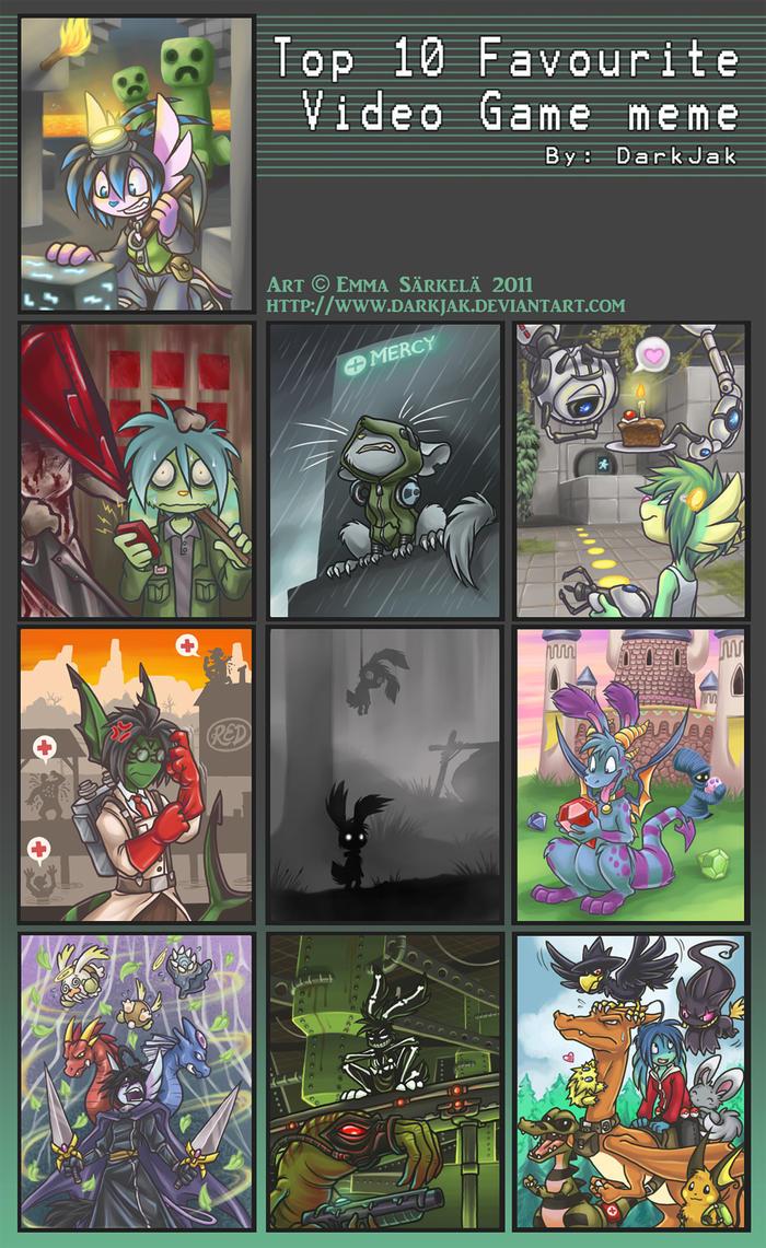 dj u0026 39 s video game meme v 2011 by zombidj on deviantart