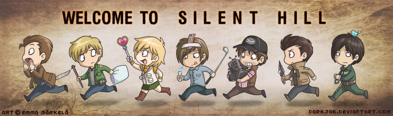 Tubos Silent Hill ( REUPLOAD ) Welcome_to_silent_hill_by_darkjak-d4weble