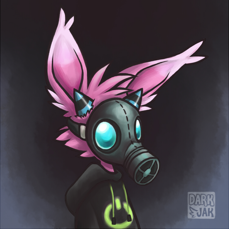 Gas Mask by ZombiDJ