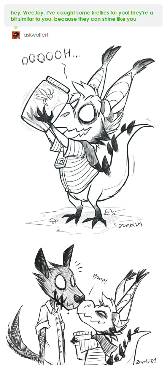 [Don't Starve] Fireflies by ZombiDJ