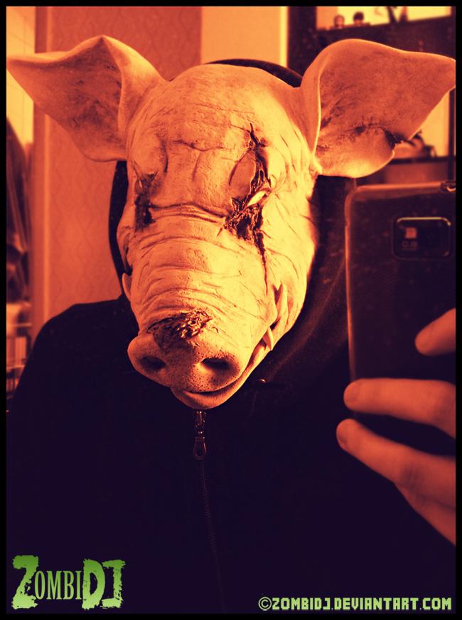 Little Piggy No No, Little Piggy Go Home by ZombiDJ