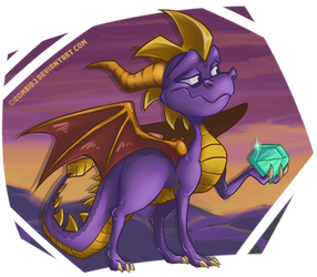 Spyro by ZombiDJ