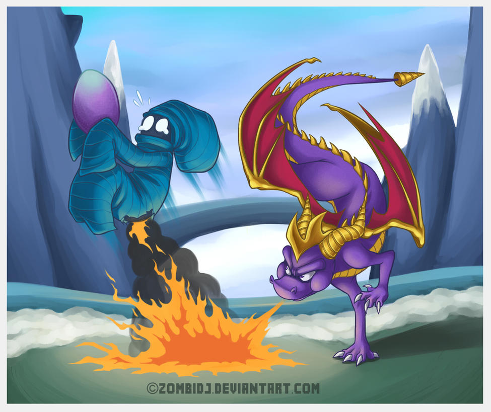 The Dragon And The Thief by ZombiDJ