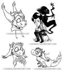 Dont Starve Sketches