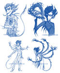 Shadow Conjuring sketches