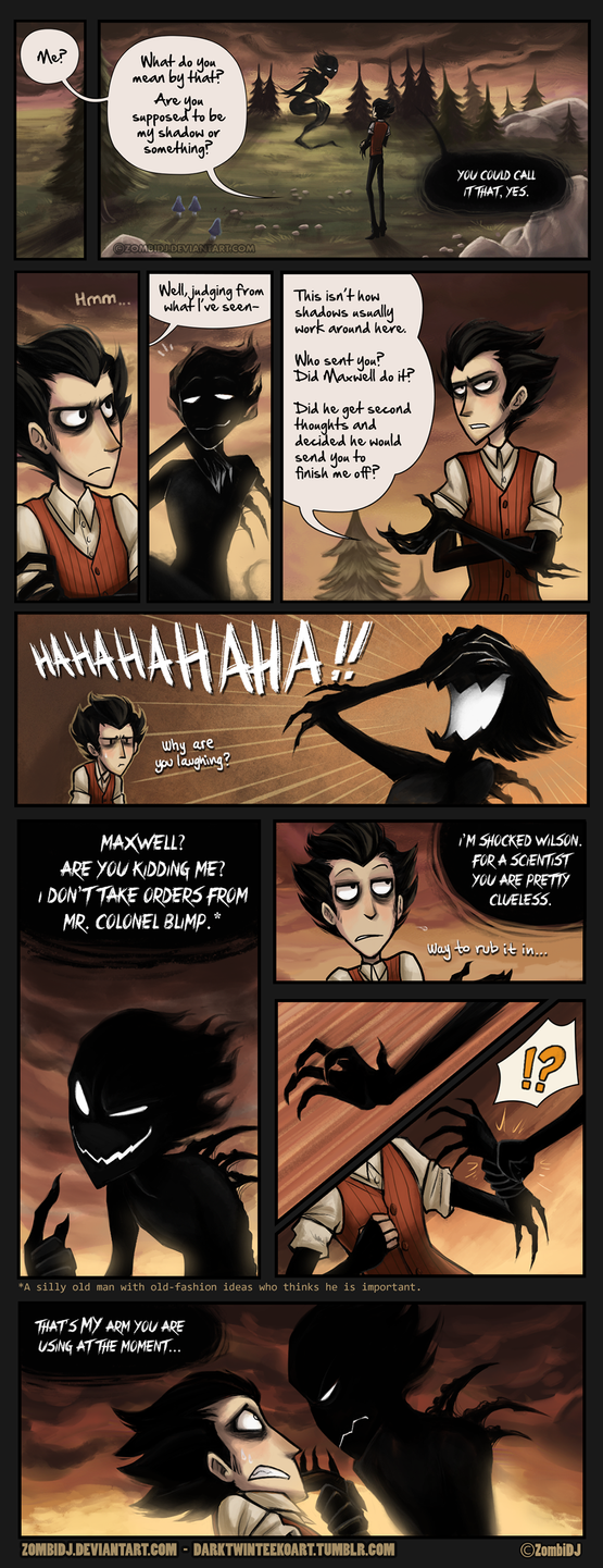 Don't Starve Comic 2 [Part 5] by ZombiDJ
