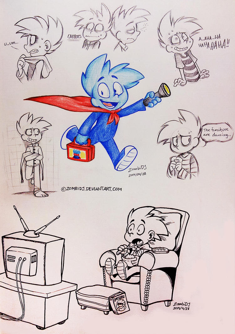 Pajama Sam by ZombiDJ
