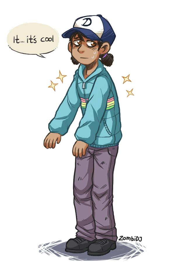 Clem's New Jacket by ZombiDJ