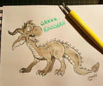Ink Paint - Dragon