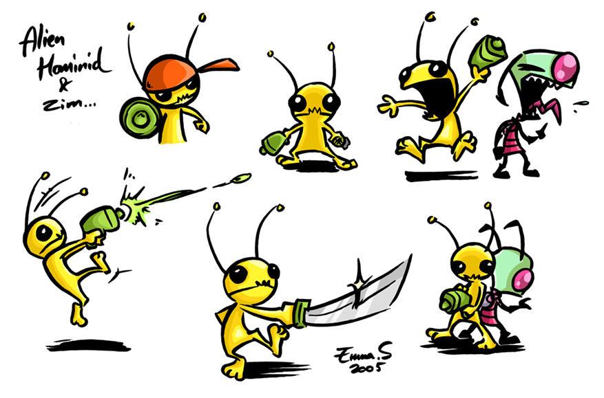 Alien Hominid by ZombiDJ