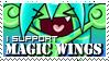 Magic Wings stamp -Tecko- by ZombiDJ