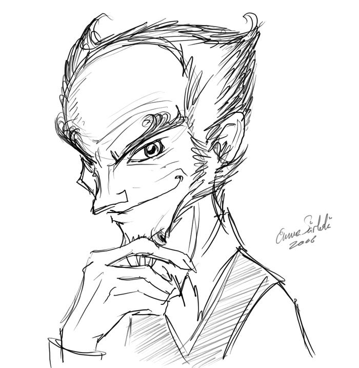 Count Olaf Doodle by ZombiDJ on DeviantArt
