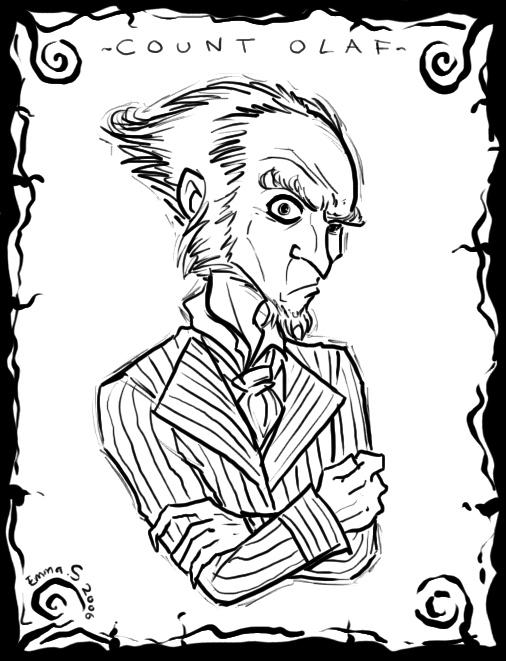 Count Olaf portrait by ZombiDJ on DeviantArt