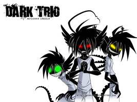 -Dark Trio- Wallpaper by ZombiDJ