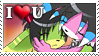 Love stamp by ZombiDJ